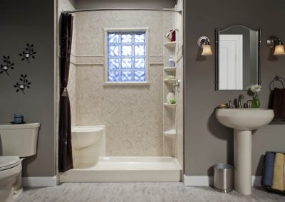 Diamond Bath Wall Tile Surround