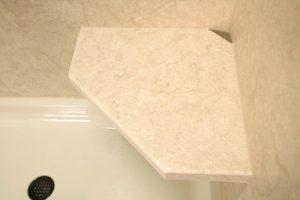 Bath and Shower Hexagon Seat