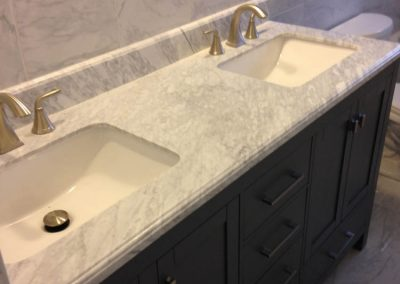 Ceramic Tile Bathroom Sink