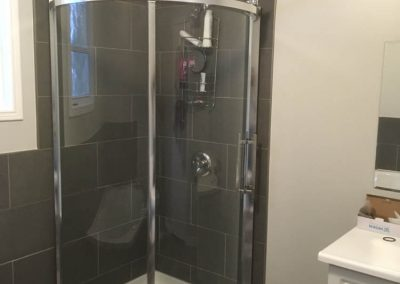 Oval Glass Shower Door