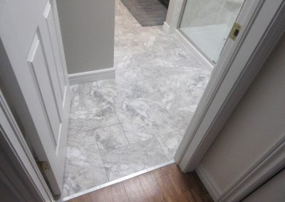Marble Floor with Gray Accents