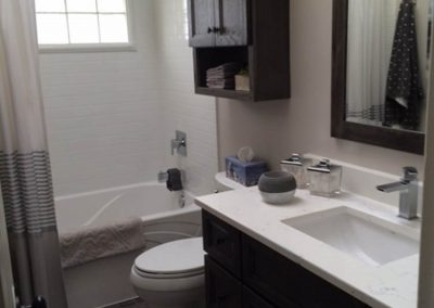 Brown and White Bathroom2