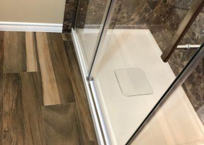 Brown Stone Shower