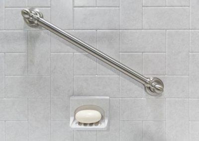 Bathtub and shower safety bar