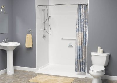 Wheelchair Accessible Wall Shower