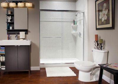 Modern Shower In wall