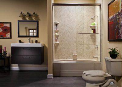 Smooth bathroom Tile