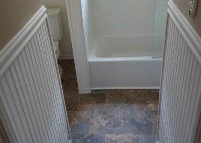White Trim and White Bath