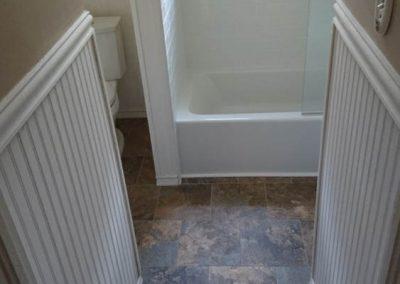 White Trim and White Bath