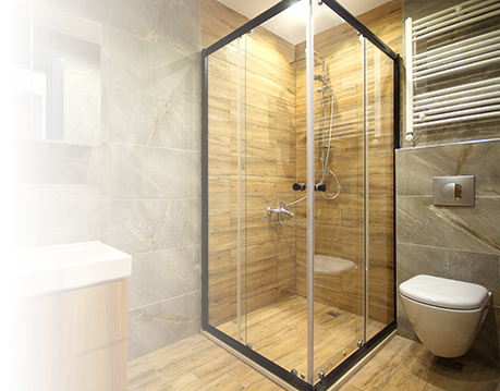 Walkin shower doors