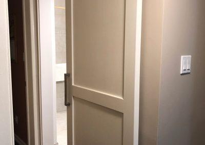 bath renovation entrance