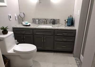 new bathroom renovation