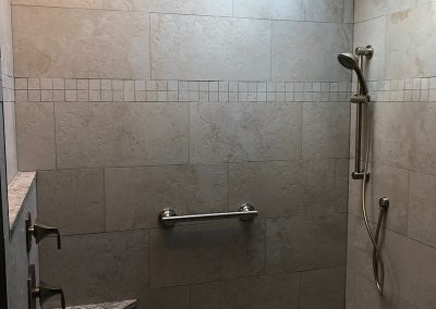 walkin shower