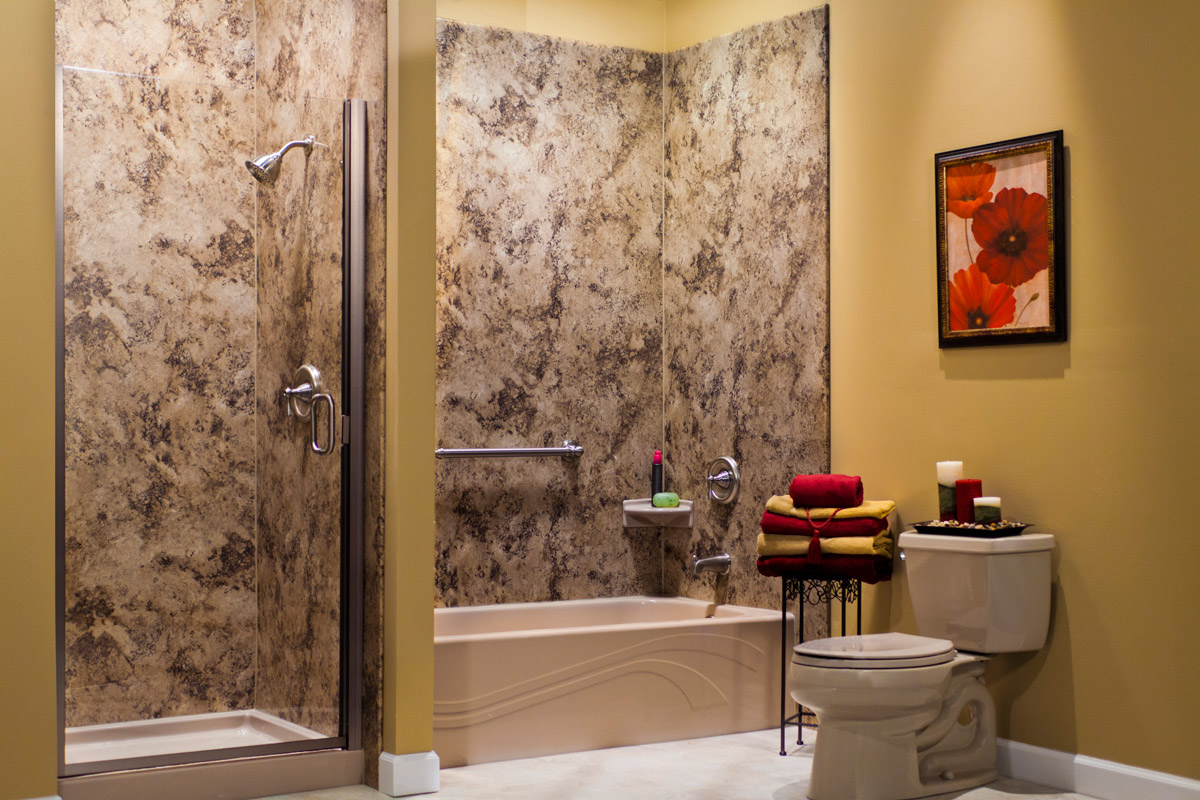 Custom Acrylic Wall Bathtub Surrounds   Peterborough Bath Renovators