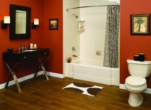 Custom Acrylic Walls Red