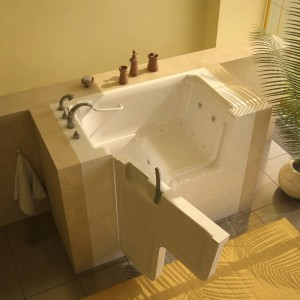 walkin tub with door