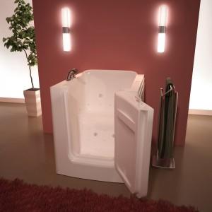 walk in tub with door