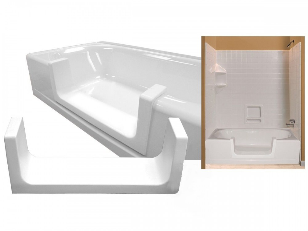 Bathroom tub inserts